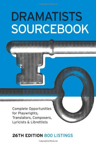Dramatists Sourcebook, 26th Edition