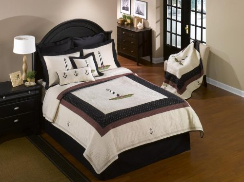 Nautical Themed Bedding 3302 front