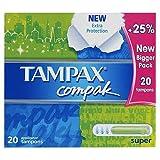 Tampax Tampons Compak Super x 20