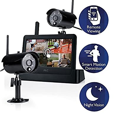 ALC AWS3266 7-Inch Connected Touch Screen Surveillance System (Black)