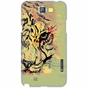 Printland Back Cover For Samsung Galaxy Note 2 N7100 - Animal Print Designer Cases