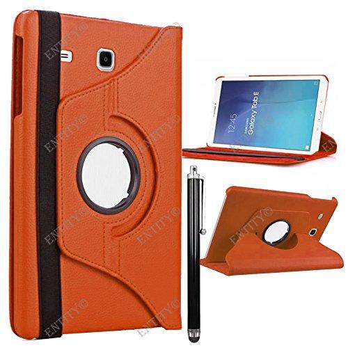 entityr-samsung-galaxy-tab-e-96-inch-pu-leather-360-degree-rotation-flip-stand-folio-case-cover-oran