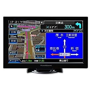 8インチ×16GBフルセグ(地デジ) ポータブルナビ 2018年春版ゼンリン地図データ VICS渋滞対応