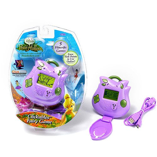 Disney Fairies Pixie Hollow Clickables Handheld Fairy Game