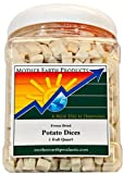 Mother Earth Products Freeze Dried Potatoes, 1 Full Quart