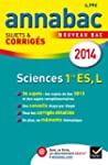 Annales Annabac 2014 Sciences 1re ES,...