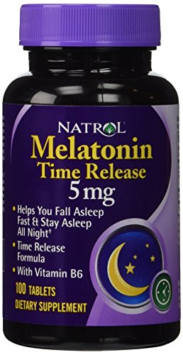 Melatonin 5mg Time Release - 100 - Tablet (Pack of 2)