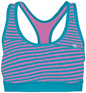 Champion Printed Racerback Sports Bra 4 Short Hot turquiose