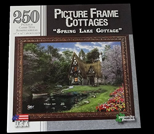 "Picture Frame Cottages, ""Spring Lake Cottage"", 250 piece puzzle"