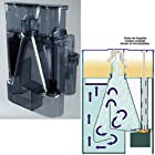 Red Sea Fish Pharm ARE50181 Deluxe Prizm Hang-On Skimmer with Pump for Aquarium