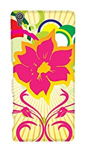 SWAG my CASE PRINTED BACK COVER FOR SONY XPERIA XA Multicolor