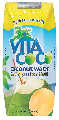 Vita Coco Coconut Water  Passion Fruit, 11.1oz
