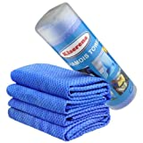 Chamois Towel - Great Cooling for Extreme Hot Weather - Premium Chamois Cleaning Cloth Is Excellent for Dry Car/ Swimming/ Pet Cleaning/sport/hair Drying/face/screen Towel.
