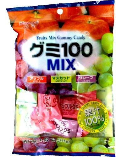 Kasugai Gummy Mix (Kasugai Fruit Gummy Candy compare prices)