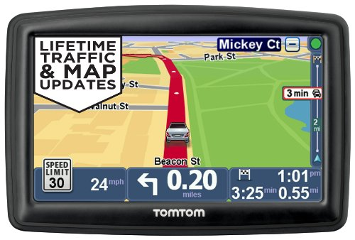 TomTom START 45TM 4.3-Inch GPS Navigator with Lifetime Traffic & Maps and Roadside Assistance