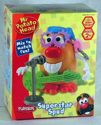 Mr. Potato Head Superstar Spud Mix 'N Match Fun front-971006