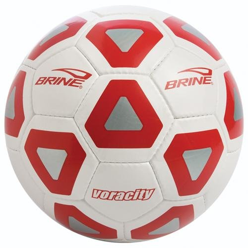 Brine Voracity Soccer Ball - Size 5, Black
