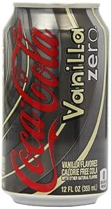 Coca-Cola Vanilla Zero 355 ml (Pack of 12)