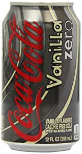 Coca-Cola Vanilla Zero 355 ml (Pack of 12)