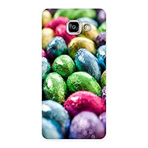 Ajay Enterprises Colorfull Eges Back Case Cover for Galaxy A5 2016