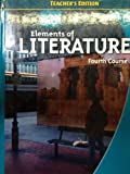 img - for Elements of Literature, 4th Course, Teacher's Edition book / textbook / text book