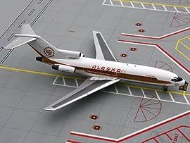 Gemini 200 Alaska Airlines B727-100 Model Airplane