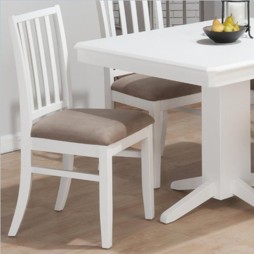 White Dining Table Chairs 9338