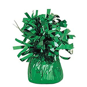 Unique Green Foil Balloon Weight