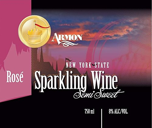 Nv Armon New York Rosé Sparkling 750 Ml