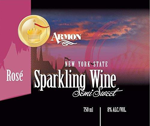 Nv Armon New York Rosé Sparkling 750 Ml