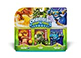 Skylanders SWAP Force Triple Character Pack 1: Lava Barf Eruptor, Slobber Tooth, Super Gulp Pop Fizz