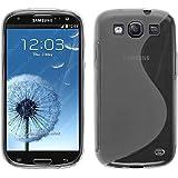 Custodia in Silicone per Samsung Galaxy S3 Neo - S-Style trasparente - Cover PhoneNatic + pellicola protettiva
