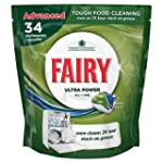 Fairy Ultra Power All-in-One Dishwash...