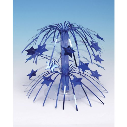 Creative Converting 193256 Royal Blue Star Cascade Centerpiece