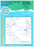 echange, troc Cartes Epshom - Carte marine : De Casablanca au Cap Jubi