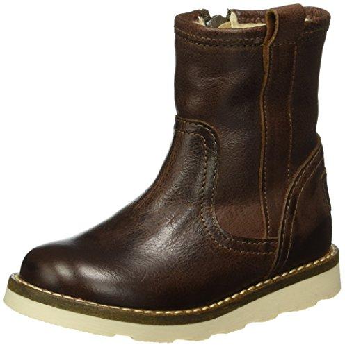 HIPH2280 - Stivali a metà gamba con imbottitura pesante  Unisex - Bambini , Marrone (Braun (26LE)), 29 EU