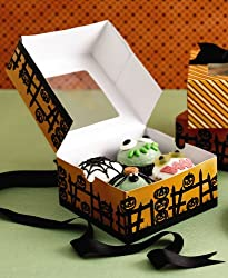 Martha Stewart Collection Halloween Cookie & Cupcake Boxes, Set of 6