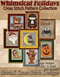 Tracy Warrington Whimsical Holiday Cross Stitch Pattern Collection