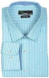 SWATHE Men's Formal Shirt (6121-1-42, Multi-Coloured)