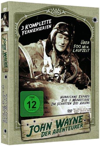 John Wayne TV Serien-Klassiker Holzbox (3 Filme/2 DVDs)