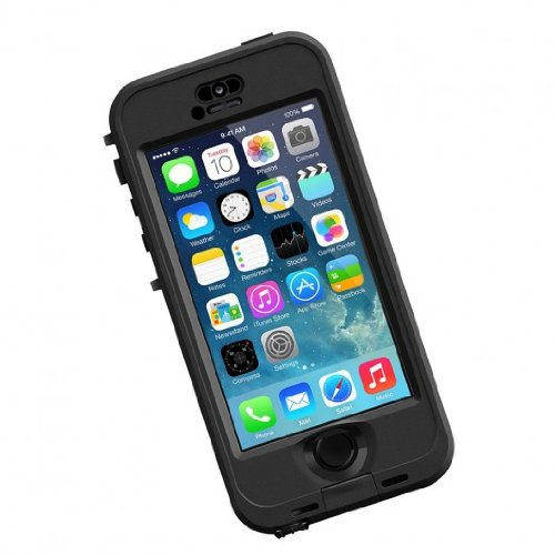 LP iPhone 5S Nuud Case Black/Smoke APAC 1