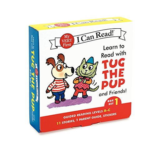 Learn to Read with Tug the Pup and Friends! Box Set 1: Levels Included: A-C (My Very First I Can Read) (I Can Learn compare prices)