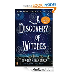 Kindle Daily Deal: A Discovery of Witches, by Deborah Harkness. Publisher: Penguin (February 8, 2011)