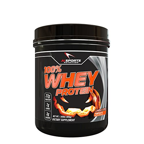 Pumpkin Pie Whey Protein Powder 1.95 Lbs (26 Servings) by Ai Sports Nutrition. (Pie Powder compare prices)