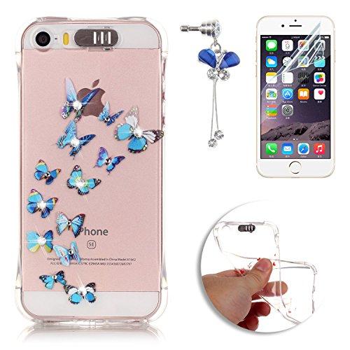 sunroyalr-para-apple-iphone-5-se-5s-funda-de-llamada-flash-led-carcasa-transparente-tpu-silicona-sli