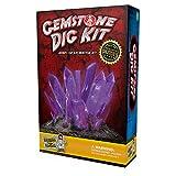 Gemstone Dig Science Kit - Excavate 3 Amazing Crystals