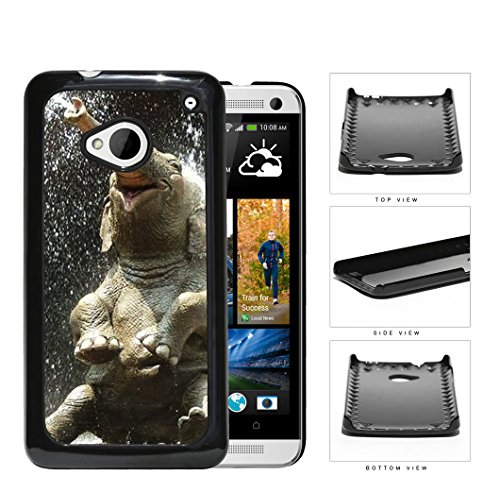 Cute Baby Elephant Water Shower Hard Plastic Snap On Cell Phone Case Htc One M7