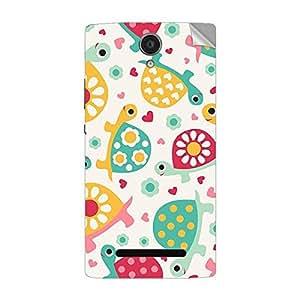 Garmor Designer Mobile Skin Sticker For OPPO X9006 - Mobile Sticker