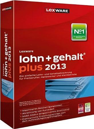 Lexware Lohn+Gehalt Plus 2013 (Version 17.00)