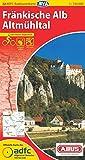 ADFC-Radtourenkarte 22 Fränkische Alb Altmühltal 1:150.000, reiß- und wetterfest, GPS-Tracks Download und Online-Begleitheft (ADFC-Radtourenkarte 1:150000)